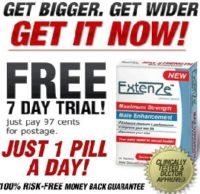 try Extenze RISK FREE!